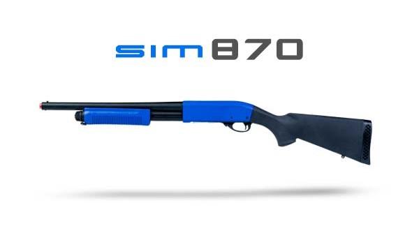 Fusil à pompe simulatir64