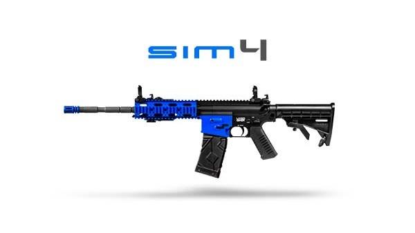 Fusil mitrailleur simulatir64